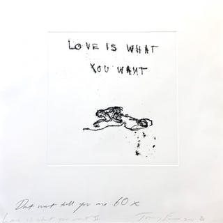 Tracey Emin, Love is What You Want II, 2011