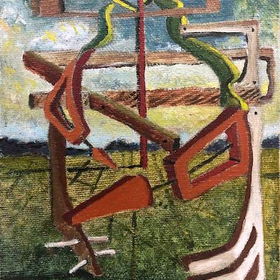George Condo, Untitled, 1983