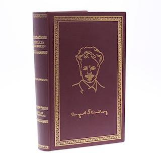 """BOK, """"Ockulta dagboken"""", August Strindberg, exclusivupplaga numrerad 23/100."""