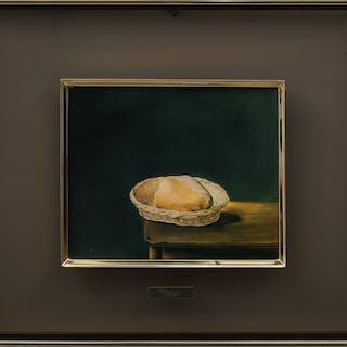 """SALVADOR DALÍ. Reproduktion """"The Basket of Bread""""."""