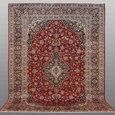 MATTA, persisk, keshan, 400 x 296 cm.