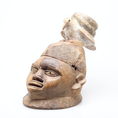GELEDEMASK, Yoruba, Nigeria, 1900-talets första hälft.