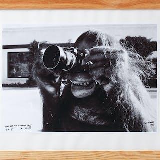 """CURT WARÅS. """"Apa med kamera"""", Las Vegas 1985, upplaga 5, signerad."""