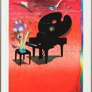 ARDY STRÜWER. Komposition, litografi, sign o numr épreuve d'artiste.