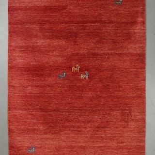 MATTA, gabbeh, indisk. 200 x 143 cm.