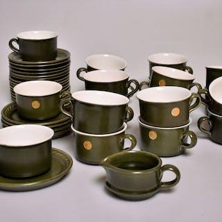 TEKOPPAR 40 delar  keramik, Bo Fajans.