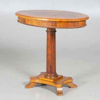 PELARBORD, mahogny, sent 1800-tal.