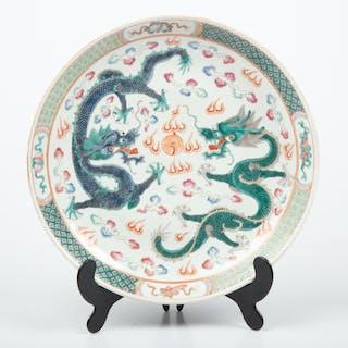 FAT, porslin, Guangxu Qing, Kina.
