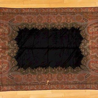 Kashmir paisley shawl, etc.
