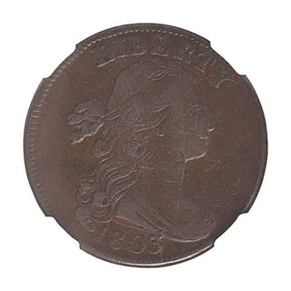 U.S. 1803 SMALL DATE SMALL FRACTION 1C COIN