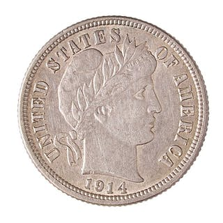U.S. BARBER 10C COINS