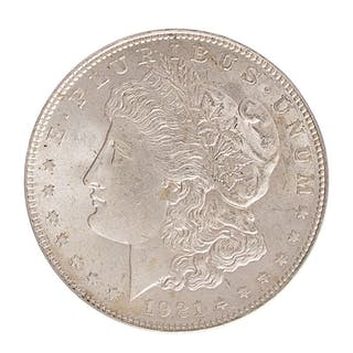U.S. 1921 MORGAN $1 COINS
