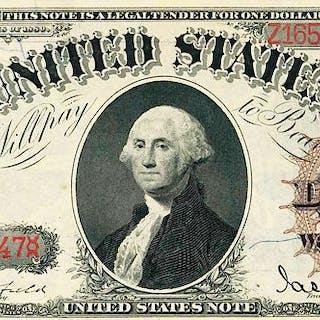 U.S. 1880 $1 LEGAL TENDER NOTE