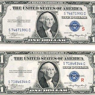 U.S. 1935 A $1 SILVER CERTIFICATES