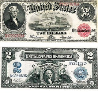 GROUP OF U.S. LARGE SIZE NOTES