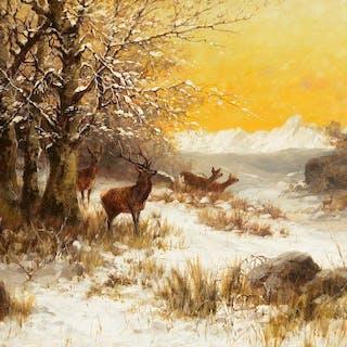 John Fery (1859–1934): Winter Day