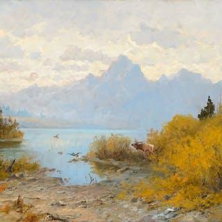 John Fery (1859–1934): Jackson Lake, Wyoming