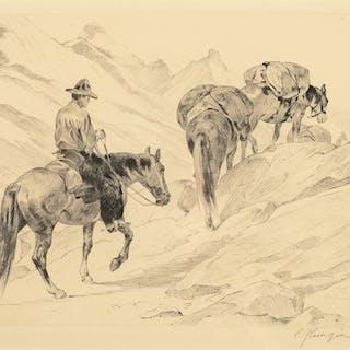 Carl Rungius (1869–1959): Over the Pass