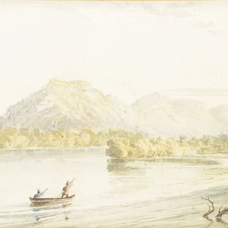 Seth Eastman (1808–1875): The Mountain that Soaks in Water