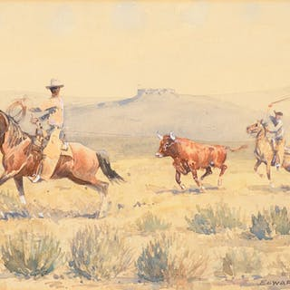 Edward Borein (1872–1945): Open Range Catch
