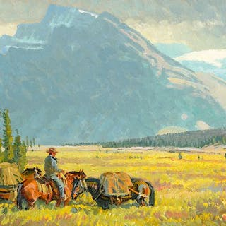 Robert Lougheed (1910–1982): In the Valley of the Bow (1980)