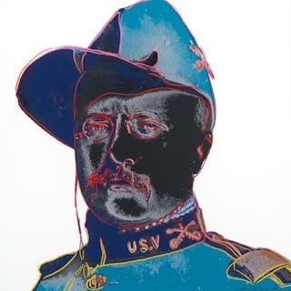 Andy Warhol (1928–1987): Teddy Roosevelt