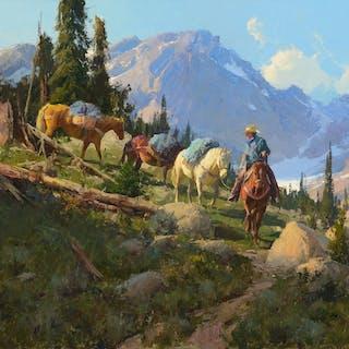 Bill Anton (b. 1957): Golden Lakes Trail (2006)