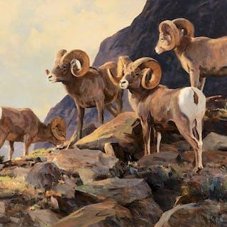 Ken Carlson (b. 1937): Bighorns