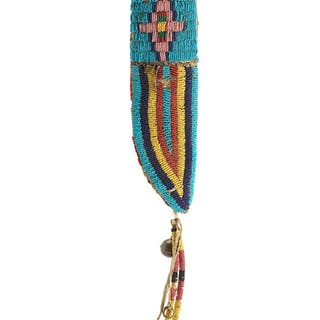 Sioux (19Th C.): Knife Case from Custer Battlefield (circa 1876)
