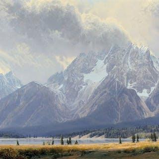 Wilson Hurley (1924–2008): West Wind on Mount Moran
