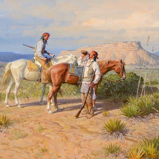 Tom Lovell (1909–1997): Chiricahua Scouts 1886 (1990)