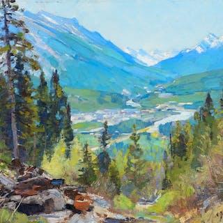 Carl Rungius (1869–1959): Tunnel Mountain
