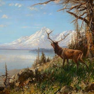 John Fery (1859–1934): Lake Wyoming (1900)