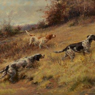 Edmund H. Osthaus (1858–1928): Setters Afield (1895)