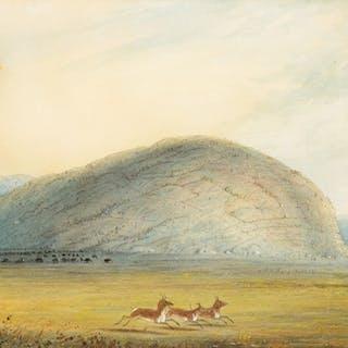 Alfred Jacob Miller (1810–1874): Independence Rock
