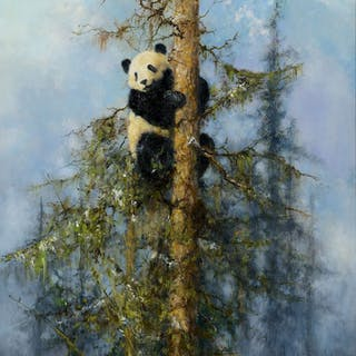 David Shepherd (1931–2017): Wolong Panda (2006)