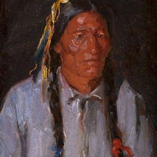 Joseph Henry Sharp (1859–1953): Crow
