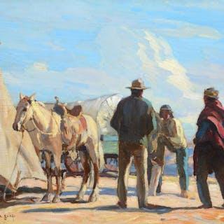 Carl Oscar Borg (1879–1947): Desert Rendezvous