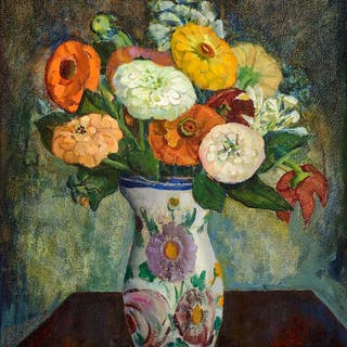 Catharine Critcher (1868–1964): Flowers in a Vase