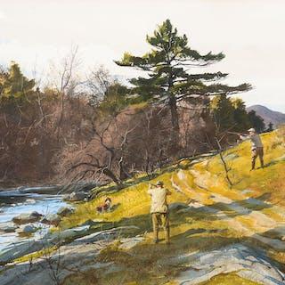 Ogden M. Pleissner (1905–1983): Grouse Hunting