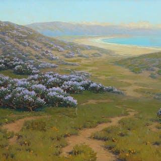 John Marshall Gamble (1863–1957): Monterey Dunes, Bush Lupine (1911)