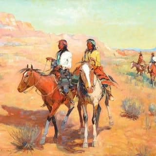 Laverne Nelson Black (1887–1938): Along the Trail