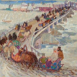 Leon Gaspard (1882–1964): Nizhny Novgorod (1911)