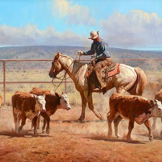 Martin Grelle (b. 1954): Workin' in the 6666's Dust (2003)