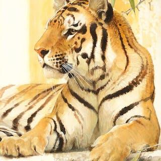 Bob Kuhn (1920–2007): Tiger (1980)