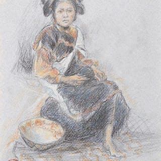 Maynard Dixon (1875–1946): Hopi Maiden