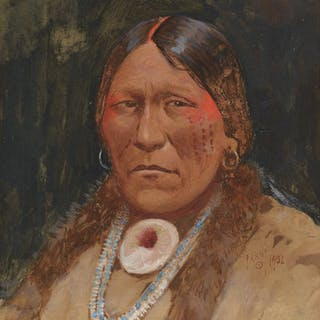 Henry Farny (1847–1916): Spotted Tail – Sioux (1902)