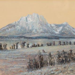 Edgar S. Paxson (1852–1919): Mt. Moran (1897)