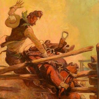 Nick Eggenhofer (1897–1985): Tough Way Out