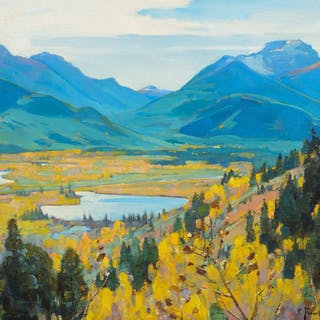 Carl Rungius (1869–1959): Bow Valley
